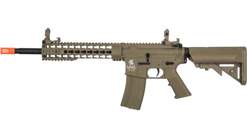 "Lancer Tactical G2 Airsoft LT-19TL M4 Carbine 10"" AEG Rifle - DARK EARTH"