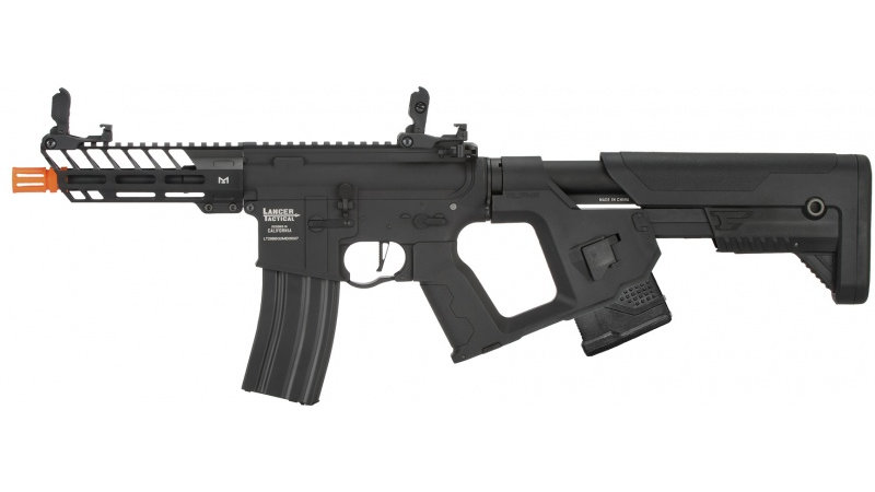 Lancer Tactical Enforcer NEEDLETAIL Skeleton AEG [LOW FPS] - BLACK