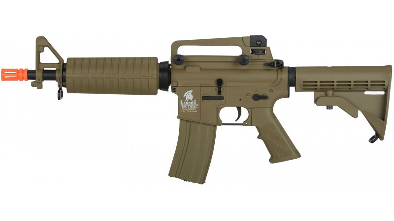 Lancer Tactical M933 Commando G2 Field AEG Airsoft Rifle - DARK EARTH