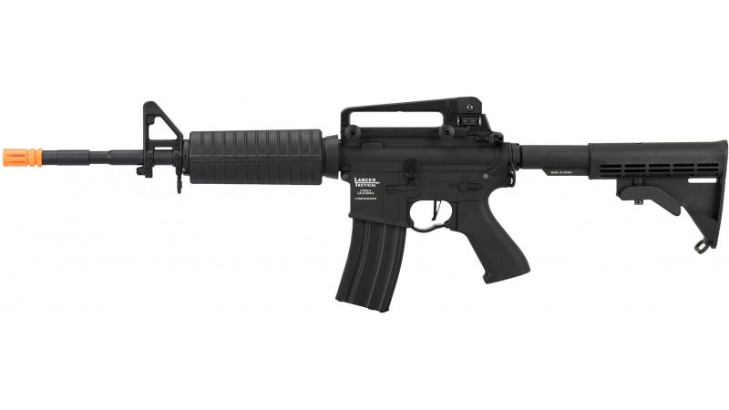 Lancer Tactical M4A1 LT-06 Carbine ProLine Series Airsoft AEG [HIGH FPS] - BLACK