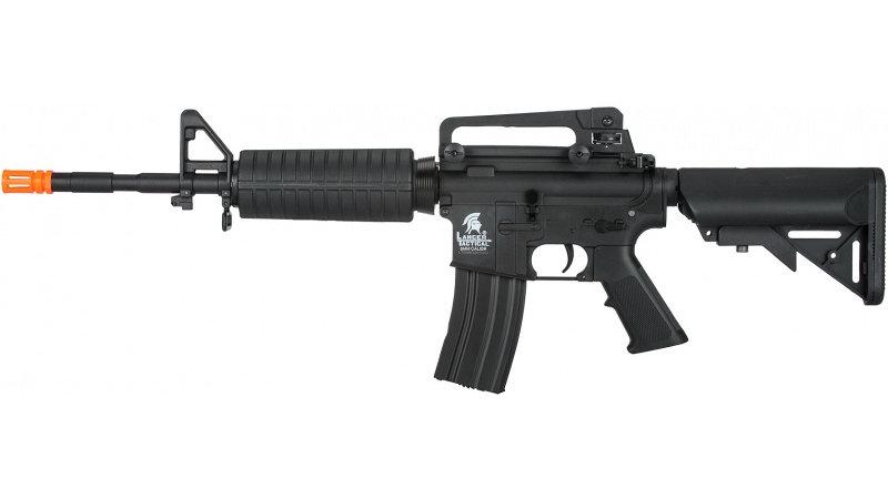 Lancer Tactical Gen. 2 M4A1 LT-03B Carbine Airsoft Gun AEG Rifle - BLACK