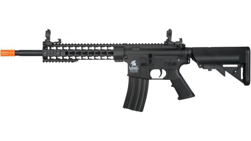 "Lancer Tactical G2 Airsoft LT-19BL M4 Carbine 10"" AEG Rifle - BLACK"