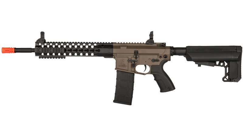 "Lancer Tactical M4 Advance Recon Carbine 14"" Airsoft AEG - DARK EARTH"