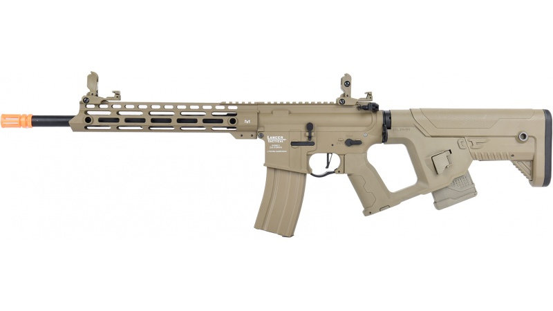 Lancer Tactical Enforcer BLACKBIRD AEG Rifle w/ Alpha Stock [LOW FPS] - TAN