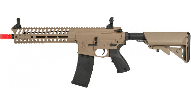 "Lancer Tactical M4 AEG Multi-Mission EBB Carbine w/ 10.5"" Barrel - TAN"