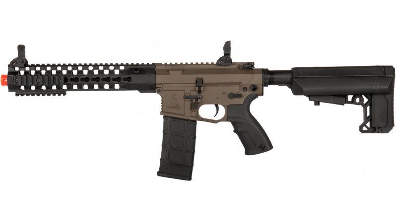 "Lancer Tactical M4 Advance Recon Carbine 10.5"" Airsoft AEG - DARK EARTH"