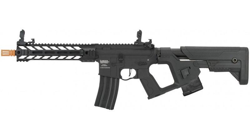 Lancer Tactical Enforcer BATTLE HAWK AEG [HIGH FPS] w/ Alpha Stock - BLACK