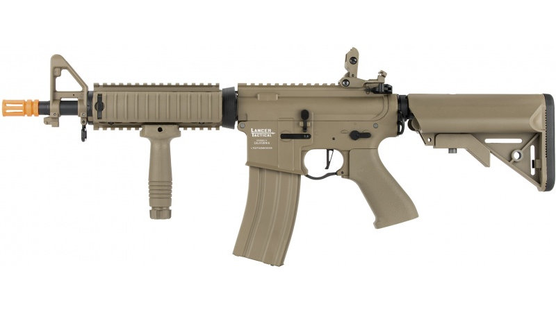 Lancer Tactical LT-02 ProLine Series MOD 0 MK18 M4 Airsoft AEG [350 FPS] - TAN