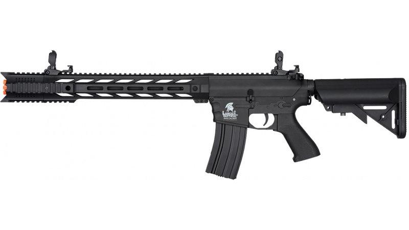 "Lancer Tactical M4 SPR ""Interceptor"" LT-25 GEN 2 AEG - BLACK - High"
