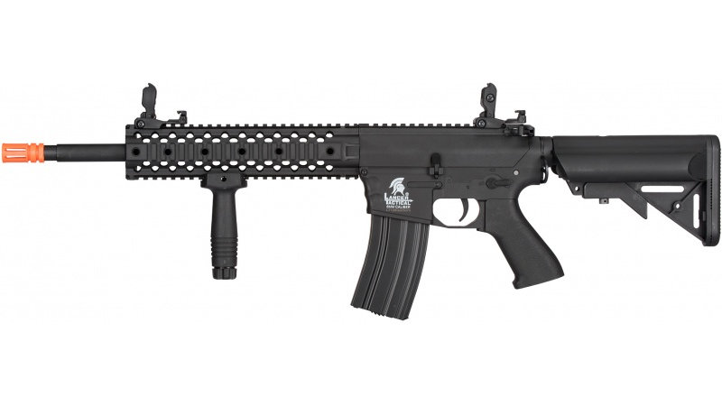 Lancer Tactical M4 Low FPS Gen 2 EVO AEG Airsoft Rifle - BLACK