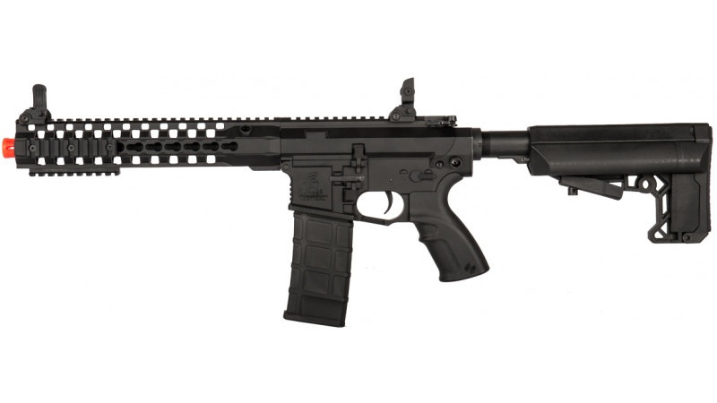 "Lancer Tactical M4 Advance Recon Carbine 10.5"" Airsoft AEG - BLACK"