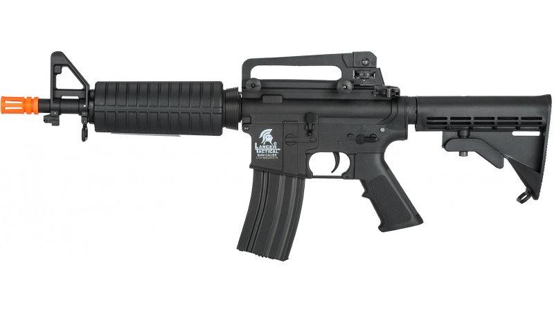 Lancer Tactical M933 Commando Gen 2 Low FPS AEG Airsoft Rifle - BLACK
