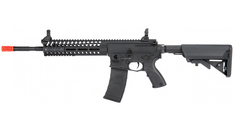 "Lancer Tactical M4 AEG Multi-Mission Carbine w/ 14.5"" Barrel - BLACK"
