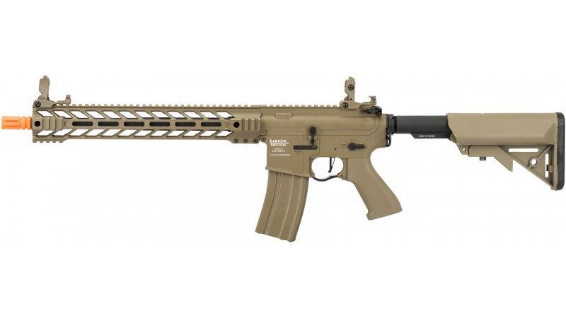 """Lancer Tactical Enforcer BATTLE HAWK 14"""" AEG [HIGH FPS] - TAN"""