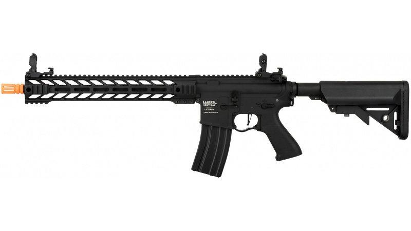 """Lancer Tactical Enforcer BATTLE HAWK 14"""" AEG [HIGH FPS] - BLACK"""