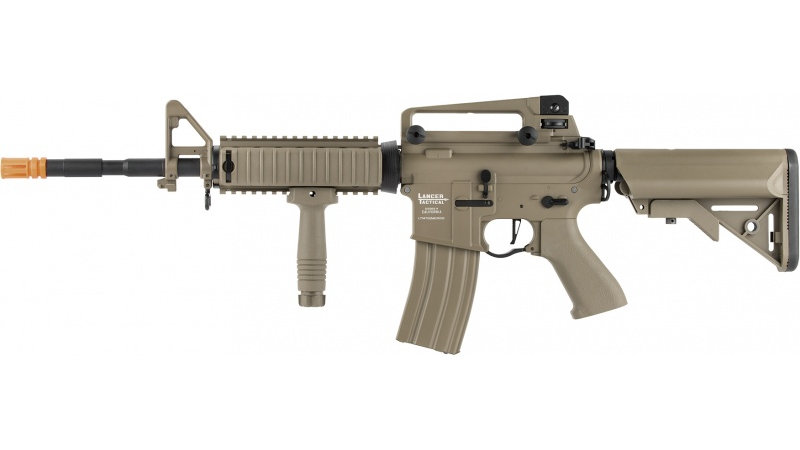 Lancer Tactical LT-04 ProLine Series M4 RIS Airsoft AEG [400 FPS] - TAN