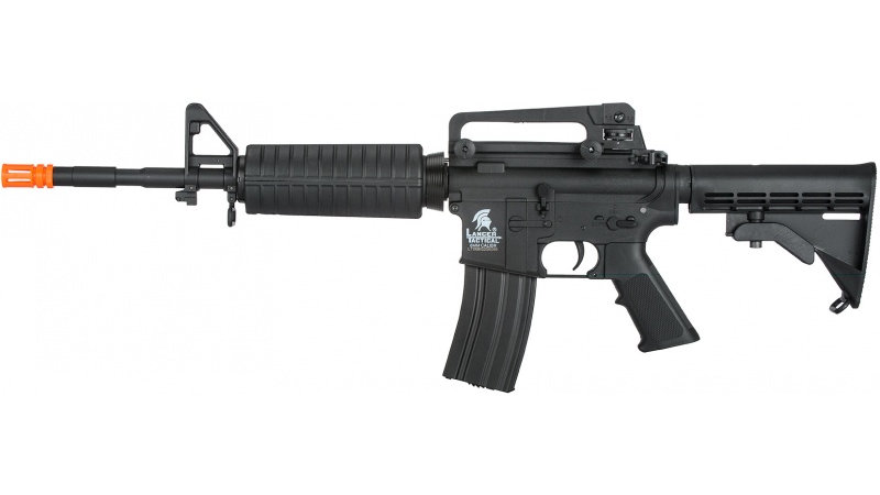 Lancer Tactical G2 M4A1 LT-06B Carbine Airsoft AEG Rifle - BLACK
