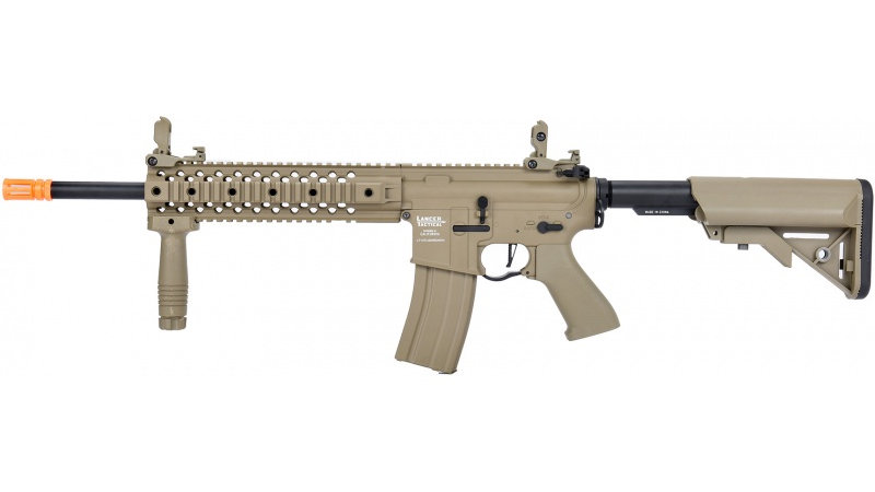 Lancer Tactical LT-12 ProLine Series M4 EVO Airsoft AEG Rifle [LOW FPS] - TAN