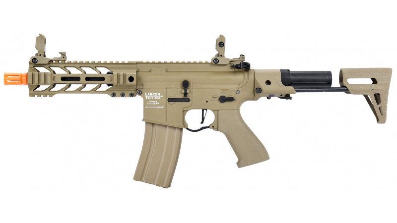 Lancer Tactical ProLine BATTLE HAWK PDW AEG [LOW FPS] - TAN