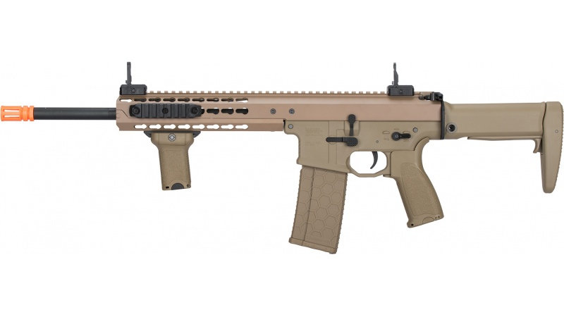 "Lancer Tactical Warlord 10.5"" Type A AEG Airsoft Rifle - DARK EARTH"