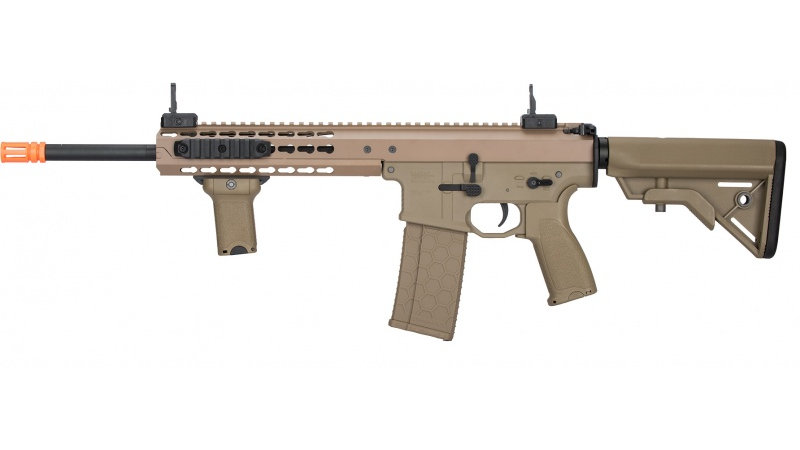 "Lancer Tactical Warlord 10.5"" Type B AEG Rifle [LOW FPS] - DARK EARTH"