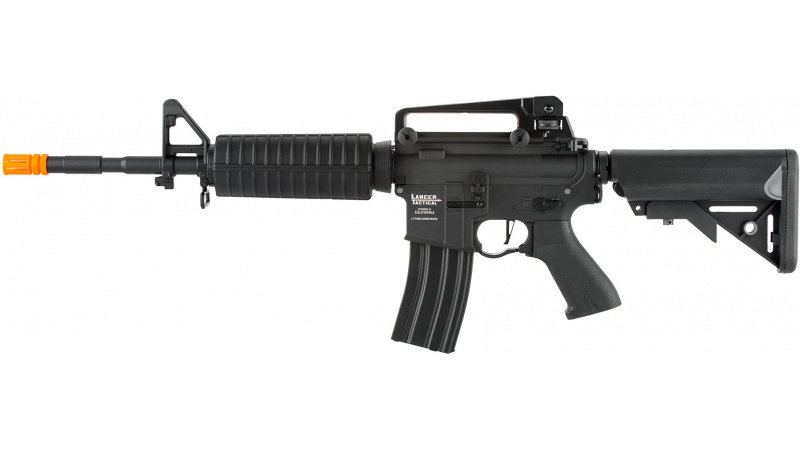 Lancer Tactical LT-03 ProLine Series M4A1 Airsoft AEG [350 FPS] - BLACK