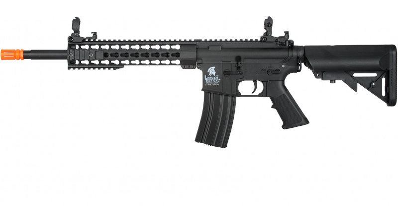 """Lancer Tactical G2 Airsoft LT-19B M4 Carbine 10"""" AEG Rifle - BLACK"""