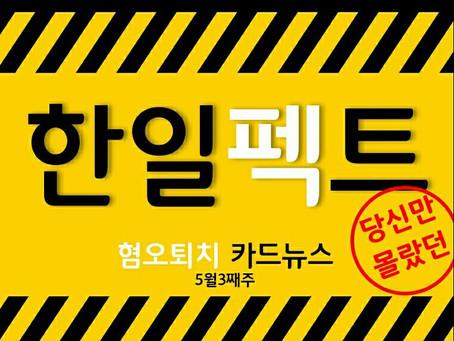 [한일펙트]5월 3째주 카드뉴스