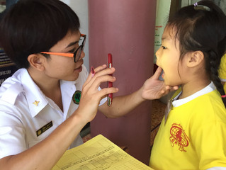 """SMILE! It's the """"Healthy Teeth"""" Campaign at the Pre-schools"""