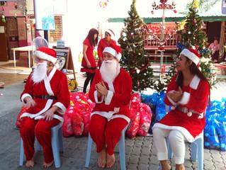 Christmas comes to the Preschools