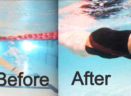 Step 1/5 to drastically improve your swimming stroke and speed