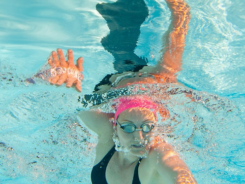 Swim Straight with Good Posture & Hand Entry