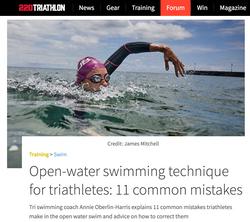Open Water Swimming Technique