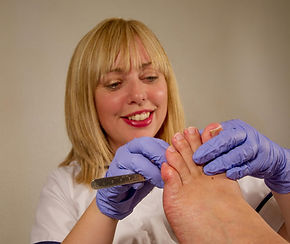 Wendy Waterhouse Podiatrist Chiropodist Calderdale 07437 015754