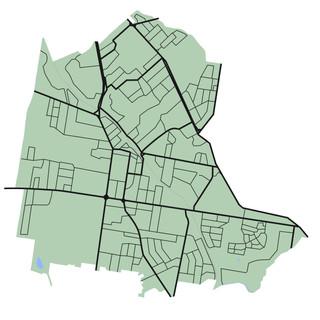 Croydon Town Map