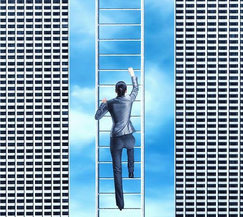 Woman climbing the ladder.jpg