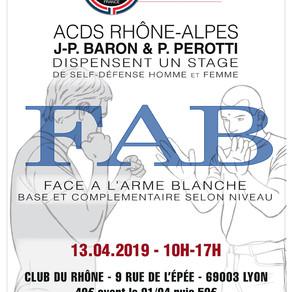 13.04.2019 - FAB à Lyon (69)