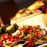 Creative Services Catering Grilled Vegs