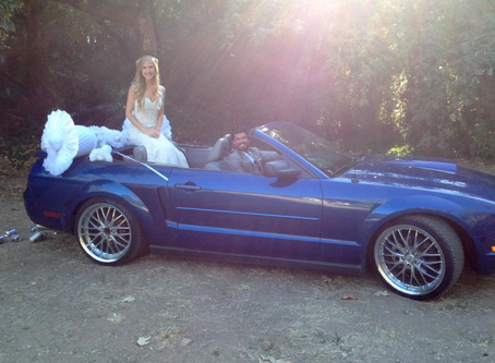 Wedding Classy Getaway Car