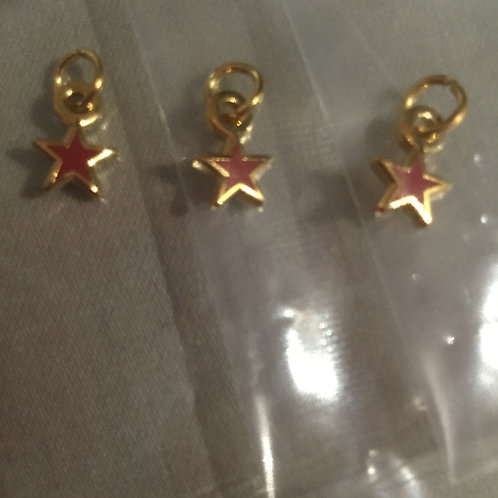 Pin 4-Star Chapter Star Dangle (Qty. 3)