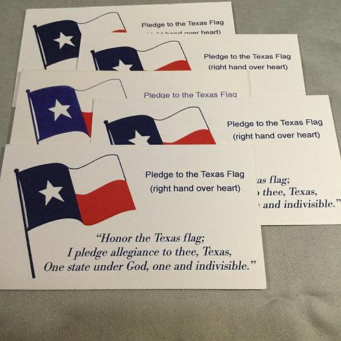 Pledge to Texas (Qty 5)