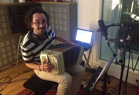 bandonéon studio enregistrement nelson malléus