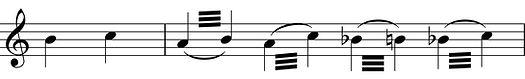 clarinette trille tremolo clairon chalumeau