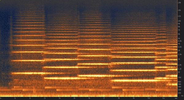 spectrogramme orchestre sans sourdine