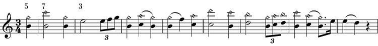 wagner sur les harmoniques de la clarinette