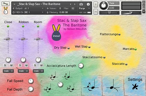Stac & Slap Sax -The Baritone - Full