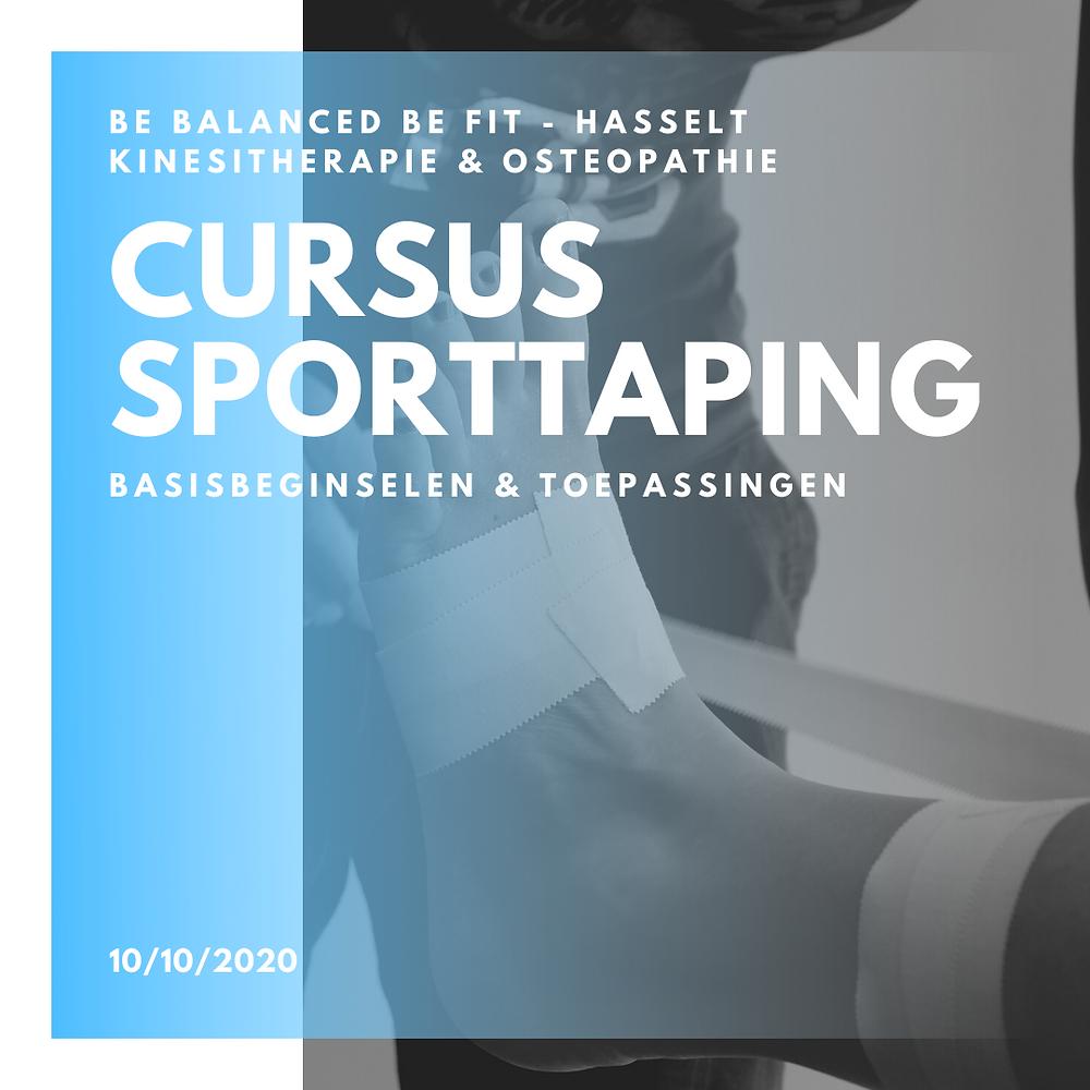 cursus sporttaping