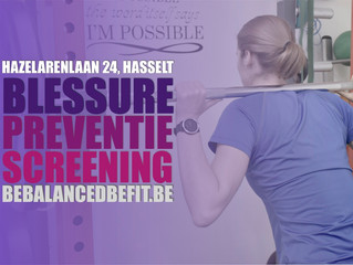 Blessure preventie screening