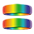 Rainbow Wedding Rings - I support same-sex marriage