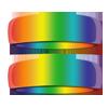 Rainbow Wedding Rings - Same Sex Marriage